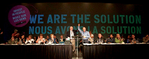 CUPE Ontario Convention — Staging