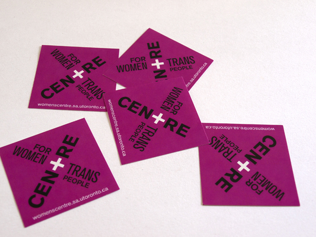 Centre for Women & Trans People Stickers