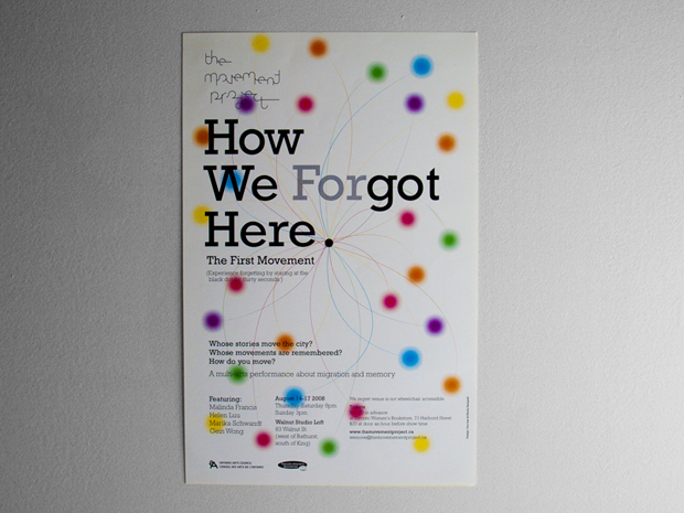 How We (For)got Here — Poster